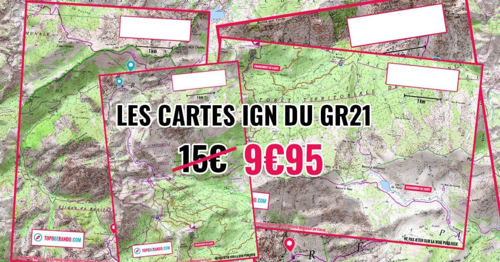 cartes du GR21