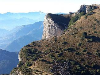 Le GR93 dans la Drôme