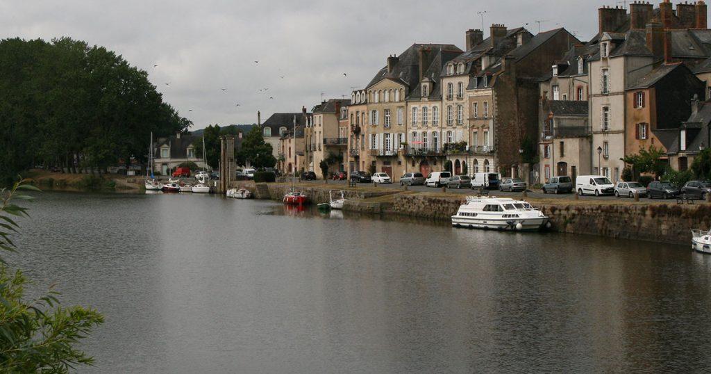 Le GR38 à Redon (Bretagne)